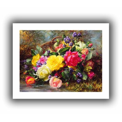 'Roses from a Victorian Garden' by Albert Williams Unwrapped on Canvas
