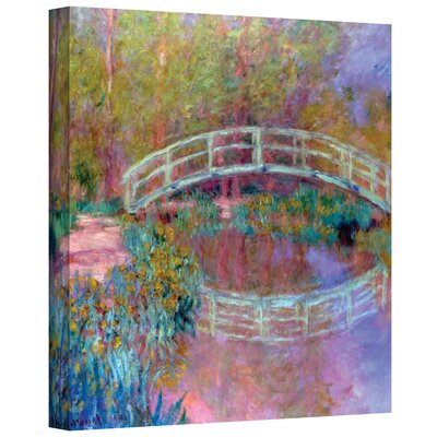 Claude Monet ''Japanese Bridge'' Canvas Art