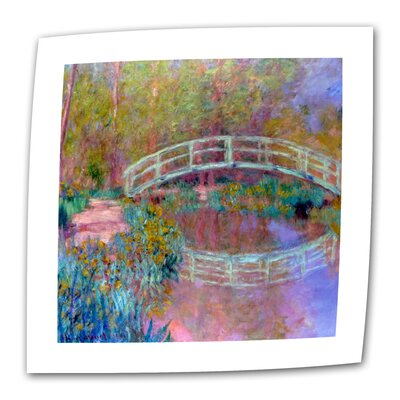 "Art Wall Claude Monet ""Japanese Bridge"" Canvas Wall Art"