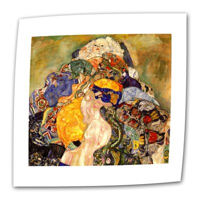 "Art Wall Gustav Klimt ""Baby Detail"" Canvas Wall Art"