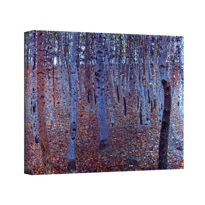 Art Wall Gustav Klimt ''Beeche Forest'' Canvas Art