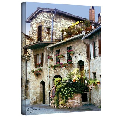 George Zucconi ''Assisi Italy'' Canvas Art