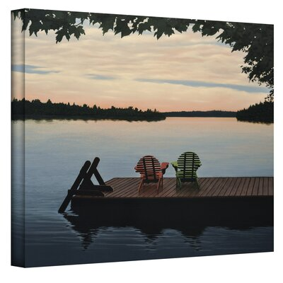 Ken Kirsch ''Tranquility'' Canvas Art