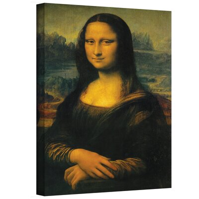 Art Wall Leonardo Da Vinci ''Mona Lisa'' Canvas Art