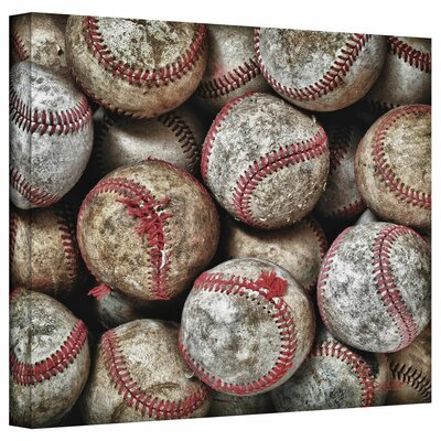 David Liam Kyle 'Baseballs' Gallery-Wrapped Canvas Wall Art