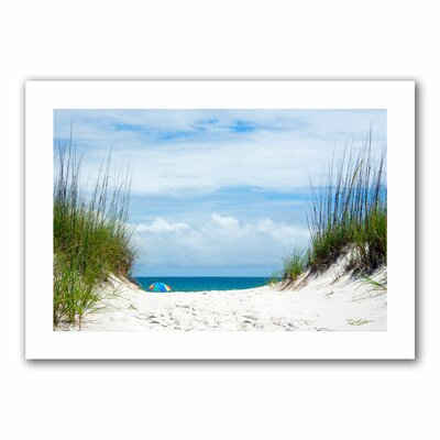 David Liam Kyle 'Ocean Path' Unwrapped Canvas Wall Art