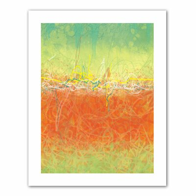 Art Wall Jan Weiss 'Textured Earth' Unwrapped Canvas Wall Art