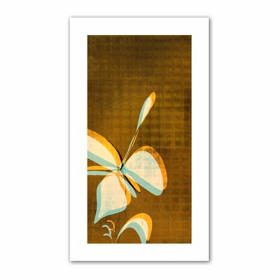Jan Weiss 'Expresso Foral II' Unwrapped Canvas Wall Art