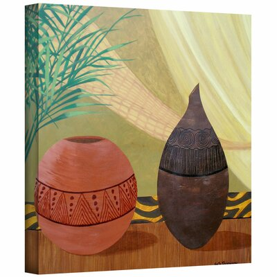 Herb Dickinson 'African Style' Unwrapped Canvas Wall Art