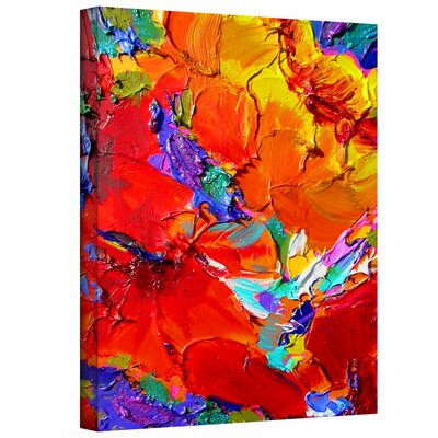 Art Wall Susi Franco 'Charlits Floral' Gallery-Wrapped Canvas Wall Art
