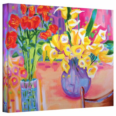 Susi Franco 'Summer Flowers' Gallery-Wrapped Canvas Wall Art