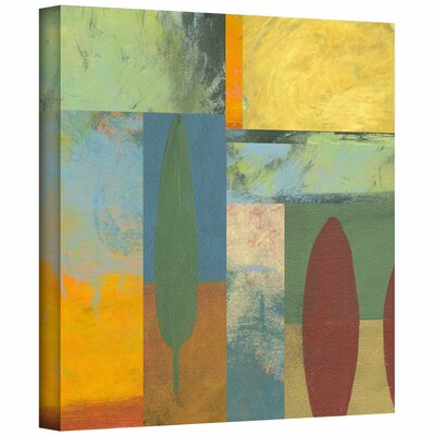 Jan Weiss 'Tuscany Square II' Gallery-Wrapped Canvas Wall Art