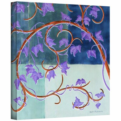 Herb Dickinson 'Blue Gate' Unwrapped Canvas Wall Art