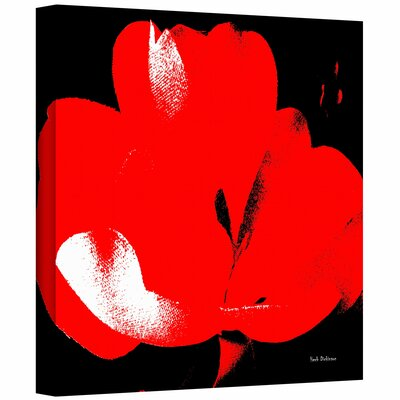 Herb Dickinson 'Hot Blooms I' Gallery-Wrapped Canvas Wall Art