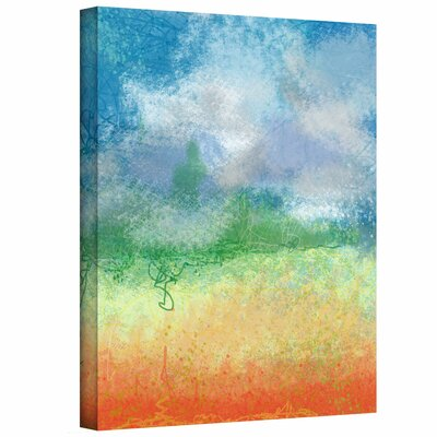 Jan Weiss 'Big Sky Calm' Gallery-Wrapped Canvas Wall Art