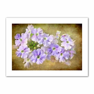 Art Wall David Liam Kyle 'Shades of Violet' Unwrapped Canvas Wall Art