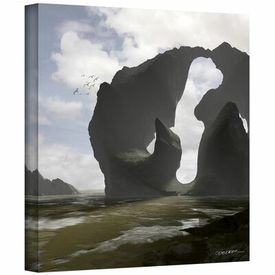 Cynthia Decker 'Low Tide' Gallery-Wrapped Canvas Wall Art