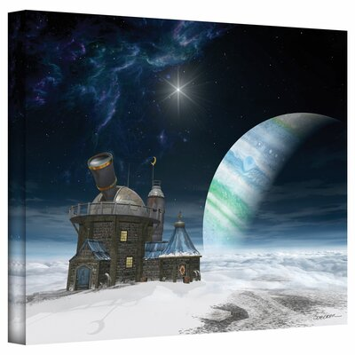 Cynthia Decker 'Observatory' Gallery-Wrapped Canvas Wall Art