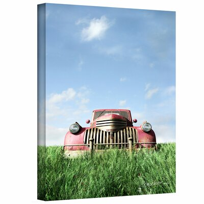 Cynthia Decker 'Red Truck' Gallery-Wrapped Canvas Wall Art