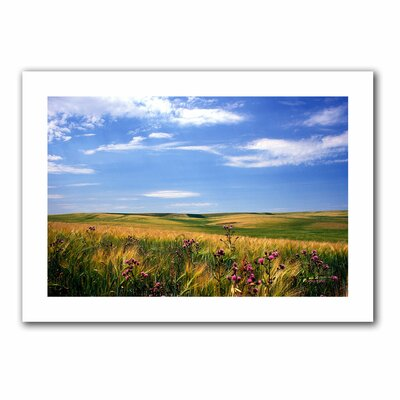 Art Wall Kathy Yates 'Field of Dreams' Unwrapped Canvas Wall Art