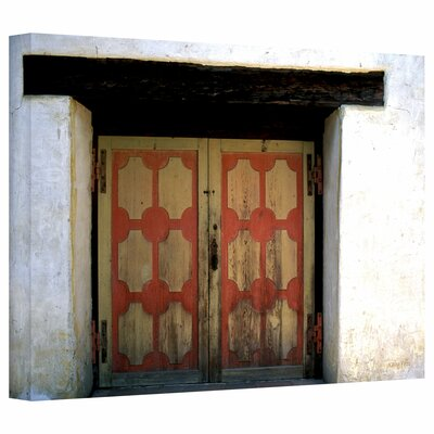 Art Wall Kathy Yates 'Mission Door' Gallery-Wrapped Canvas Wall Art