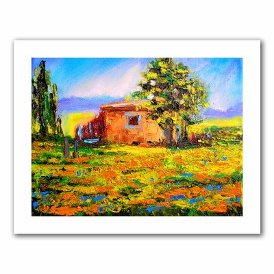 Art Wall Susi Franco 'Prarie Palace' Unwrapped Canvas Wall Art