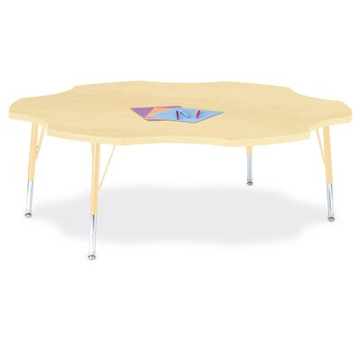 Berries Six Leaf Activity Table (60