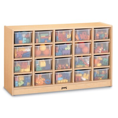 Jonti-Craft Mobile 20 Compartment Cubby