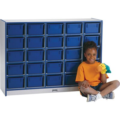 Jonti-Craft Rainbow Accents 25 Compartment Cubby