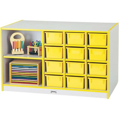 Jonti-Craft Rainbow Accents 14 Compartment Cubby
