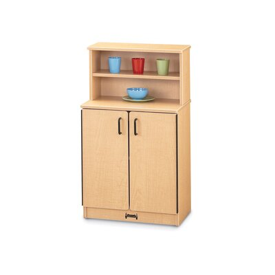 Jonti-Craft School Age Natural Birch Cupboard