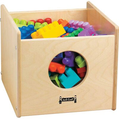 Jonti-Craft See-n-Wheel Shelf Cubby Bin