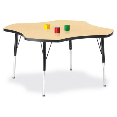 "Jonti-Craft KYDZ Activity Table- Four-Leaf (48"" Diameter)"