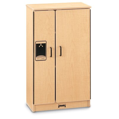 Jonti-Craft Natural Birch Refrigerator