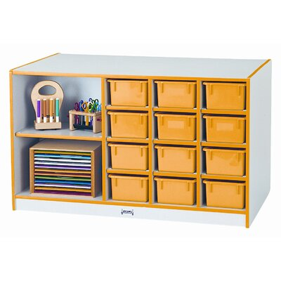 Jonti-Craft Storage Island with Trays