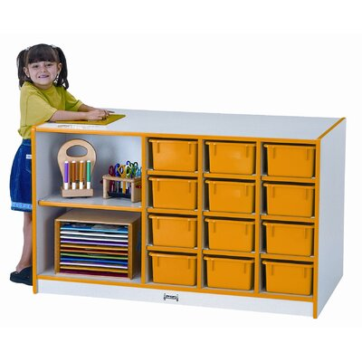 Jonti-Craft Storage Island 14 Compartment Cubby