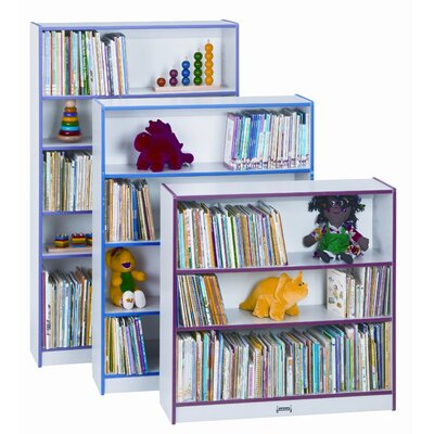 Jonti-Craft Rainbow Accent Bookcase