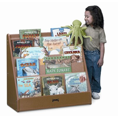 Jonti-Craft One Sided Sproutz Flushback Pick-A-Book Stand