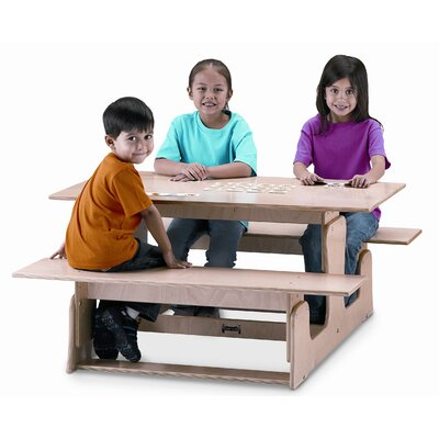 Jonti-Craft Picnic Table