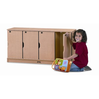 Jonti-Craft Stacking Lockable Lockers