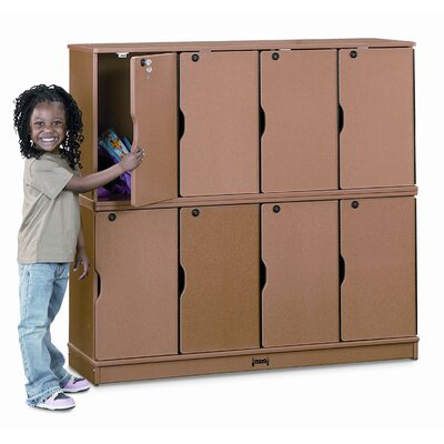 Jonti-Craft Sproutz Stacking Lockable Lockers