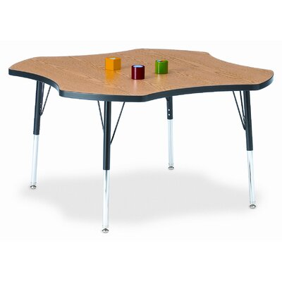 Jonti-Craft KYDZ Four Leaf Laminate Activity Table