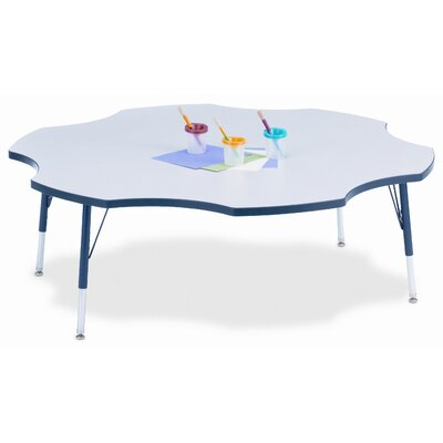 Jonti-Craft KYDZ Six Leaf Laminate Activity Table