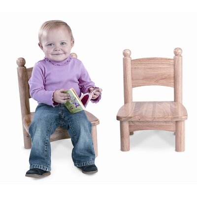 Jonti-Craft Wooden Chair Pairs