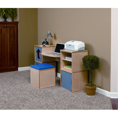 Jonti-Craft RooMeez Extra Double Desktop Kit