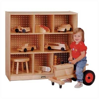 Jonti-Craft Mobile Single Storage Unit