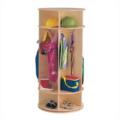 Jonti-Craft Revolving Coat Locker - 5 Sections
