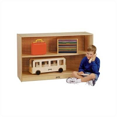 Jonti-Craft Low Straight-Shelf Mobile Unit