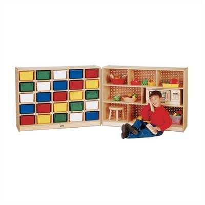 Jonti-Craft Fold-n-Lock 33 Compartment Cubby