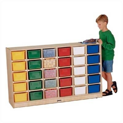 Jonti-Craft ThriftyKYDZ 30 Tray Mobile Storage Without Trays